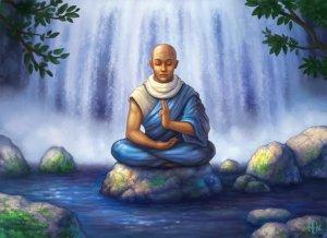 Blå meditation