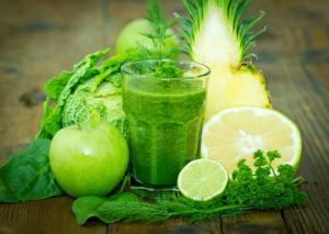 Grönt frukt grönsaker,nyttigt