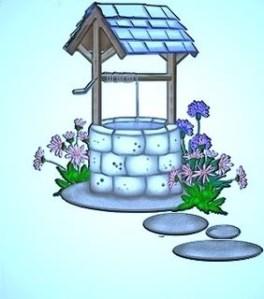 Önskebrunn ljusblå