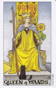 Drottning i stavar