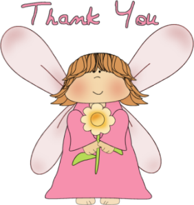 Tack ängel