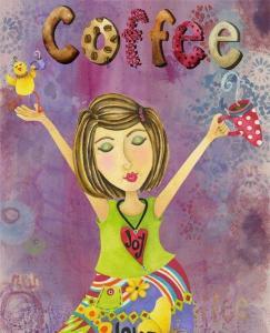 Kaffe kvinna
