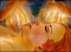 Healing kvinna