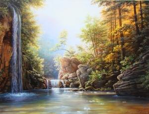 Vattenfall natur