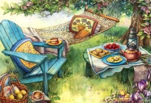 Hammock trädgård