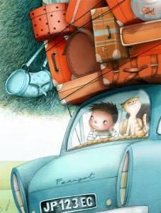 Bil bagage