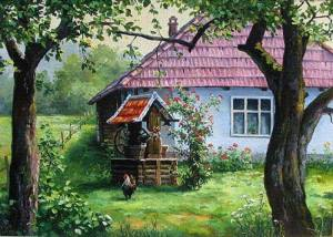 Önskebrunn hus
