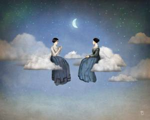 Kvinnor moln