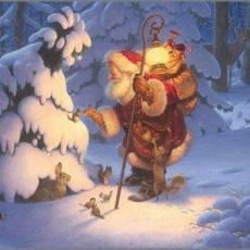 jul Tomte o hare liten