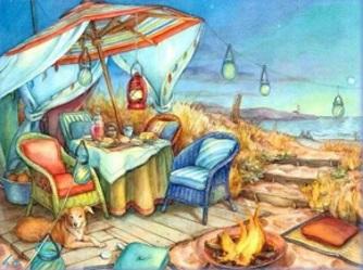 Picknick havet