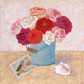 Blommor hink brev kopia