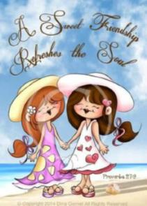 Flickor vänskap kopia