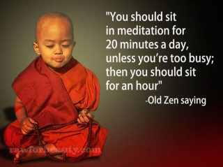 Meditation pojke