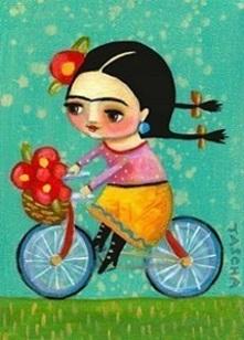 flicka-cykel-farger