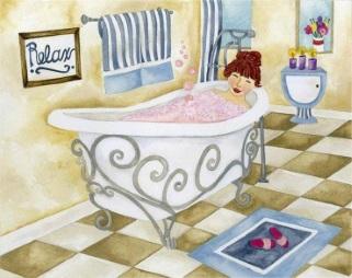 badkar-kvinna-lyx-ny