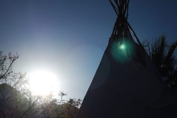 Indiantält Spanien