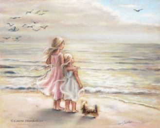 Tankar minnen strand