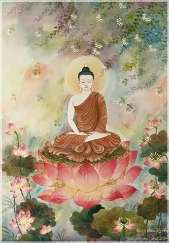 Meditation kvinna