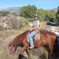 Hästridning Spanien 6