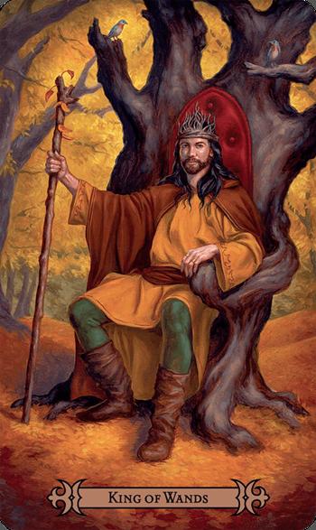 Kung stavar tarot